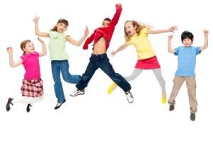 healthy-children-playing